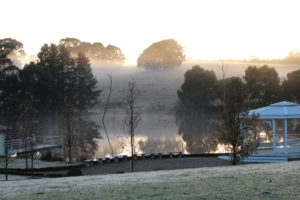 The grounds at Cammeray Waters Conference & Wedding Venue, Woodend, Macedon Ranges